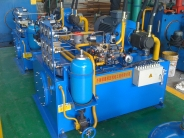 鋼格板壓機系統